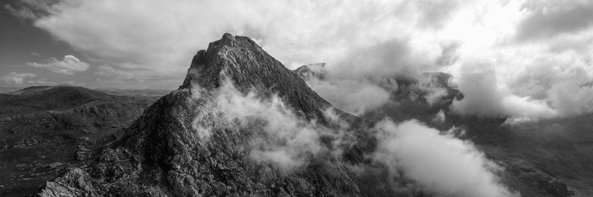 Snowdonia national park panoramic print