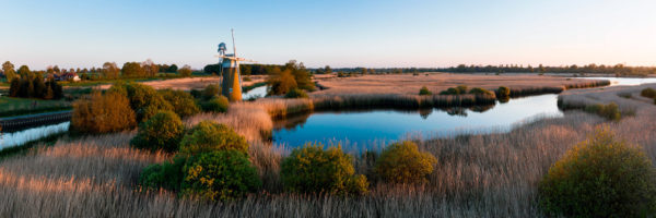 How Hill mill in the Norfolk Broads national park