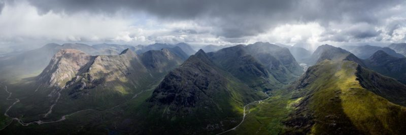 three sisters peaks Scotland