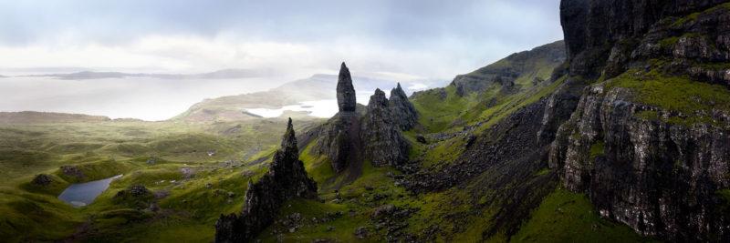 Isle of Skye aerial