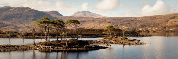 Scottish loch islands