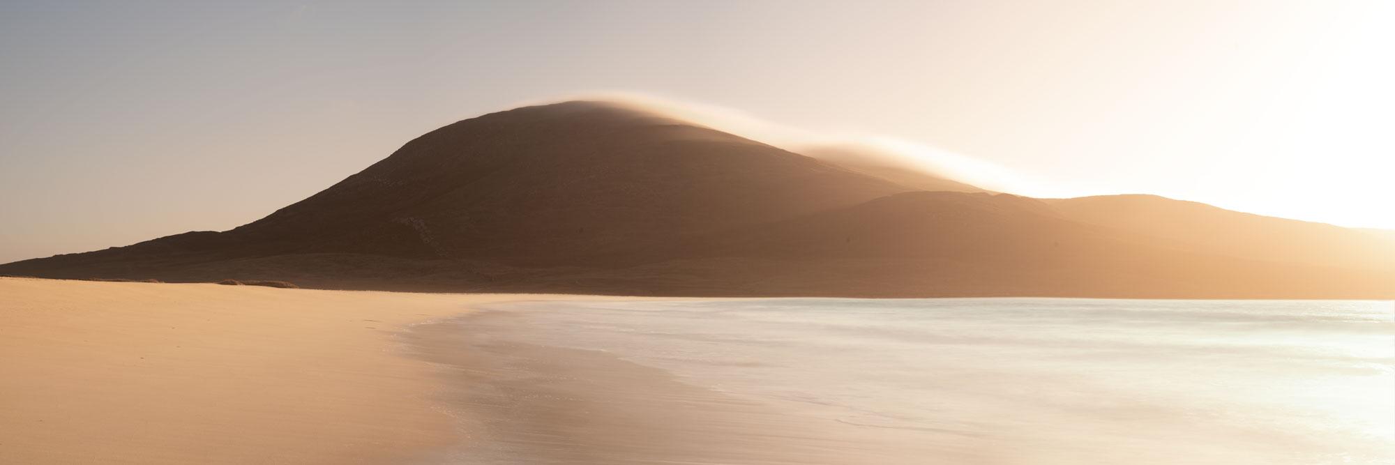 abstract Sgarasta beach Isle of Harris Scotland