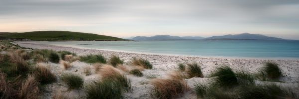 windswept beach in the outer Hebrides