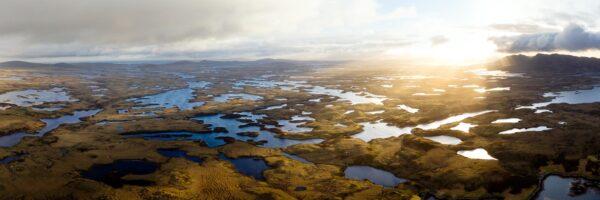 thousands of lochs in North Uist scotland
