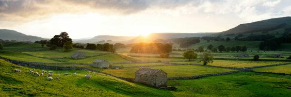 Yorkshire Dales summer framed print