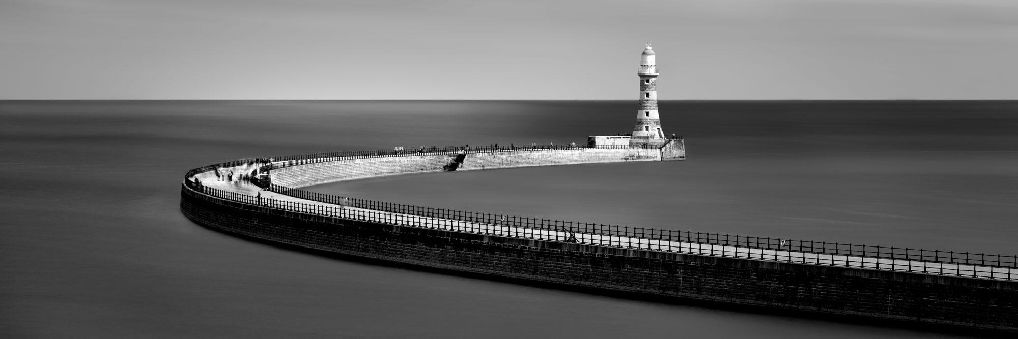 lighthouse on the English coast Sunderland