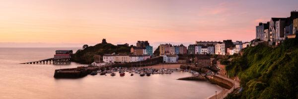 Welsh coastal town
